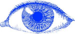 Eine Illustration eines Auges