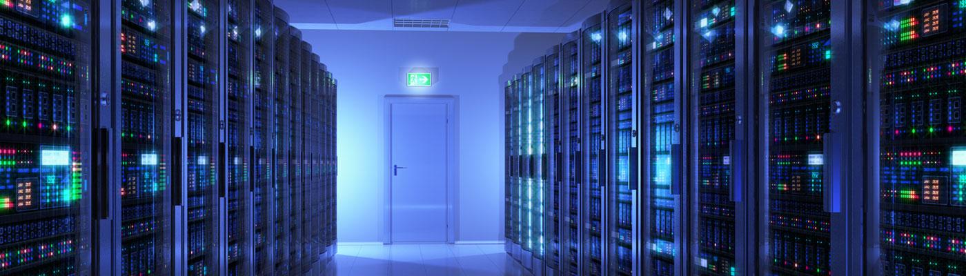 Ein Raum voller Server